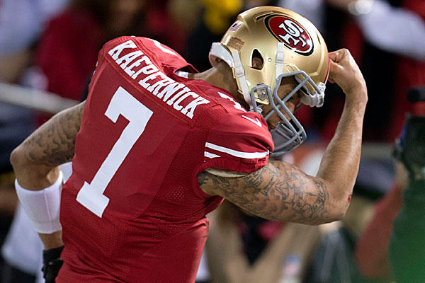 If the Niners win the Super Bowl, Colin Kaepernick will be kissing more than just his biceps.