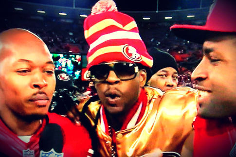 2 Chainz even crashed the post-game interview.